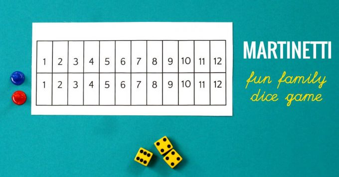 How to play Martinetti or Centennial dice game