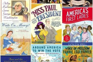Children's Books about Women in Politics and Women Activists