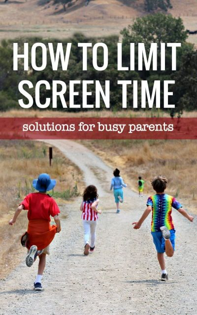 Easy ways to limit screen time. 4 solutions that work.