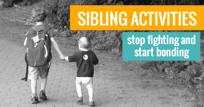Sibling activities for kids