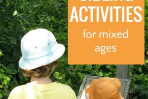 Fun sibling activities for kids