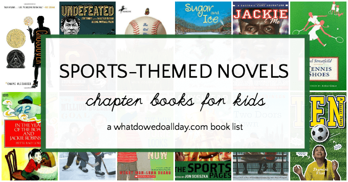 Sports novels for kids