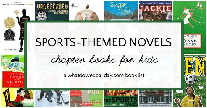Sports novels for kids