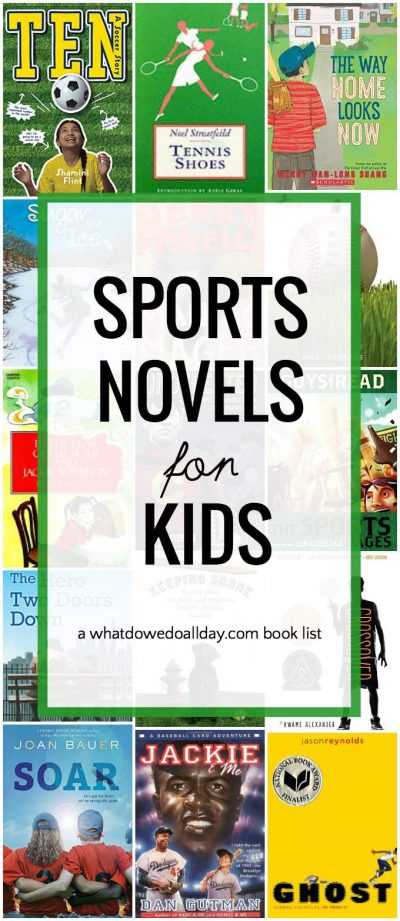 Best Sports chapter books for kids