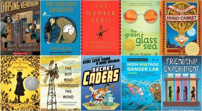 STEM chapter books for kids