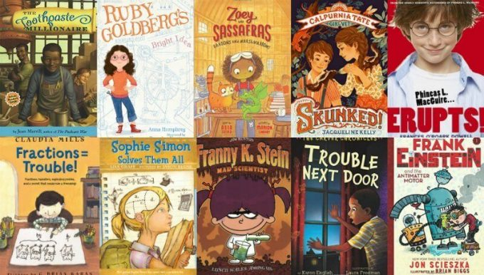 STEM books for 6-10 year olds