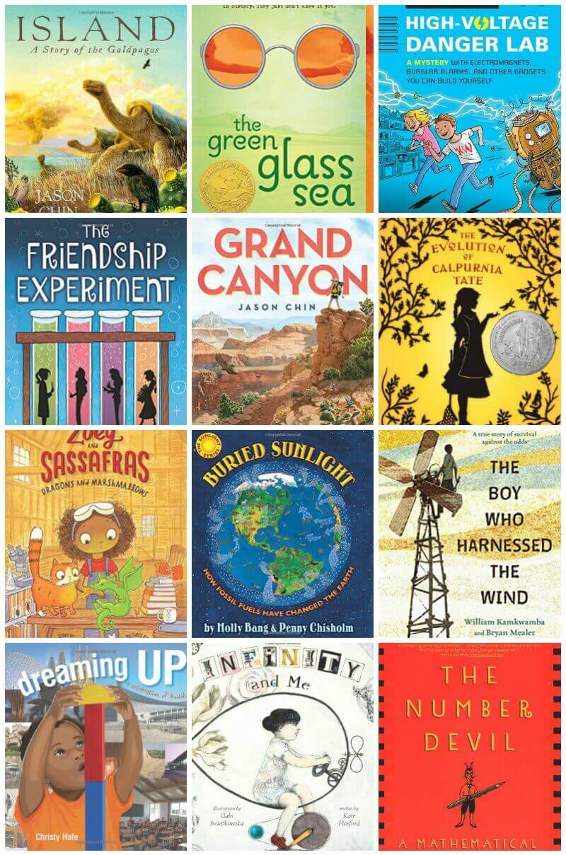 the best and most inspiring stem books for kids