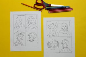 The Women Cards: Women's History Month Coloring Pages