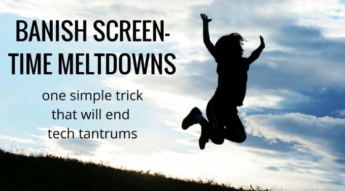 No more tech tantrums for kids