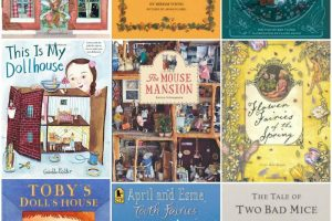 Darling Books about Fairies, Dollhouses & Other Wee Things
