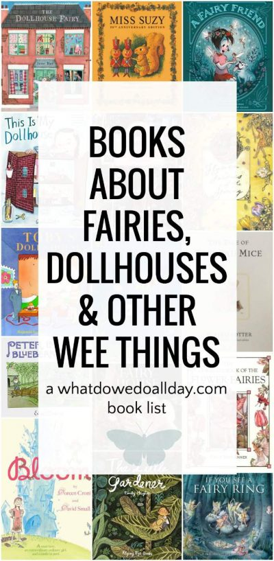 Fairy books for kids and picture books about dollhouses