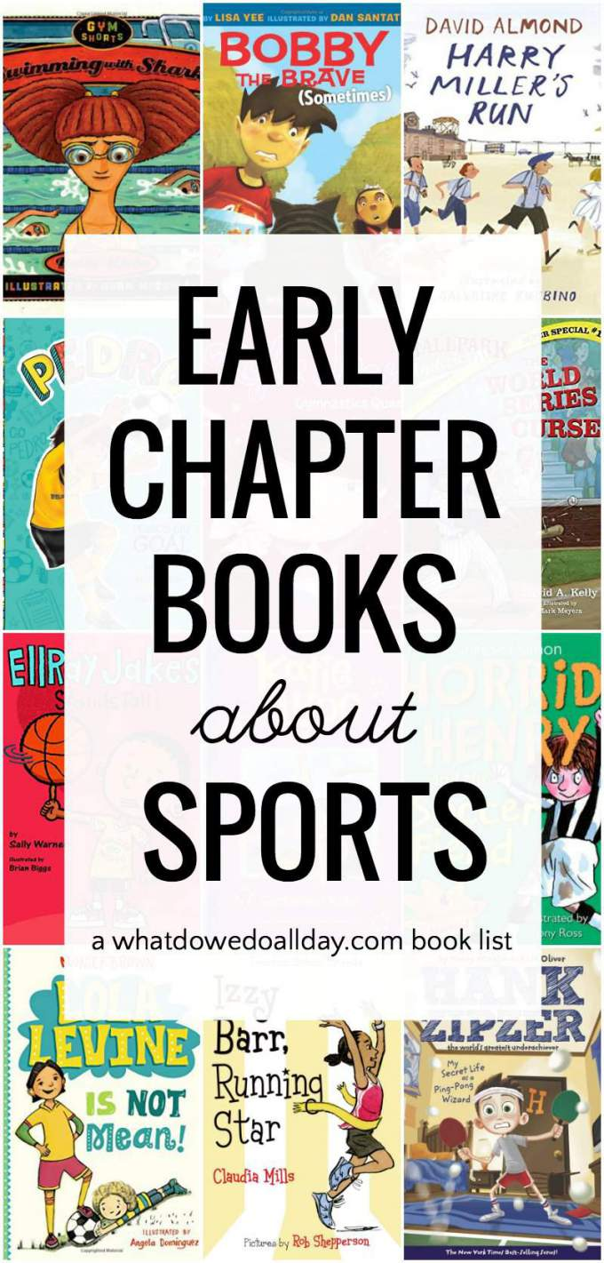 Beginning chapter books about sports