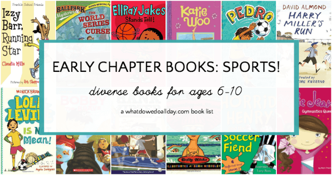 Early chapter books about sports for kids
