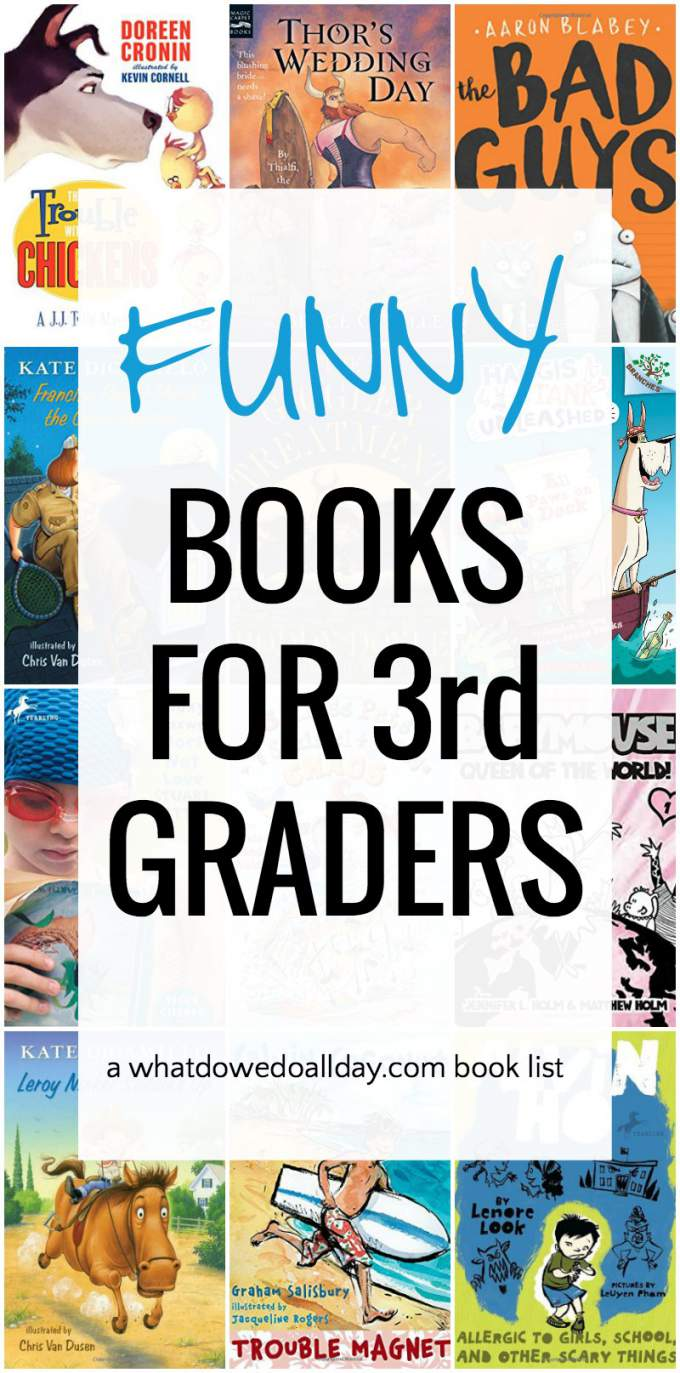 Summer reading book list for 3rd graders