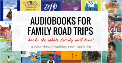 Best audiobooks for family road trips