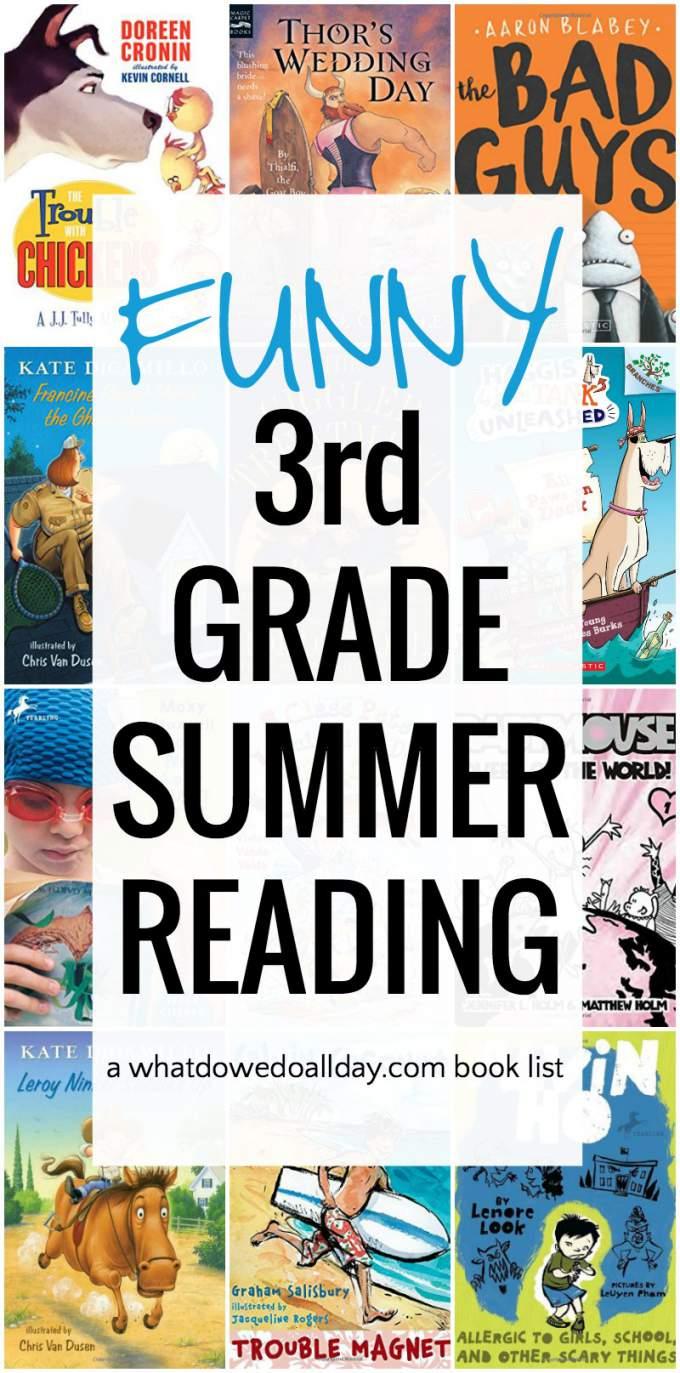 summer reading book list for 3rd grade