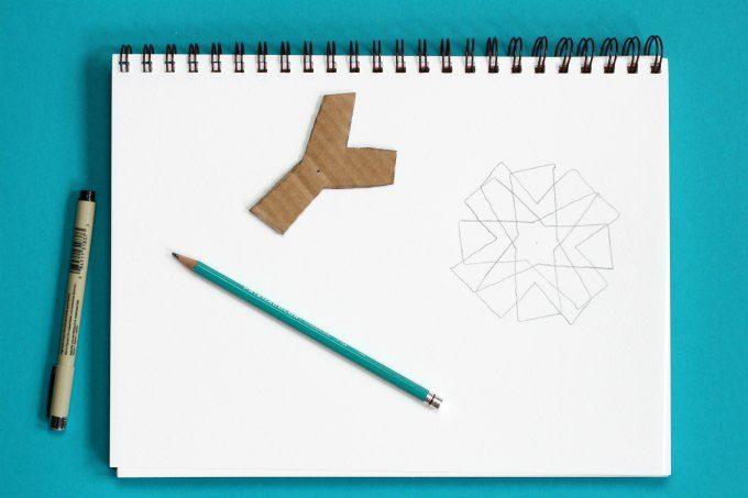Rotational symmetry outline