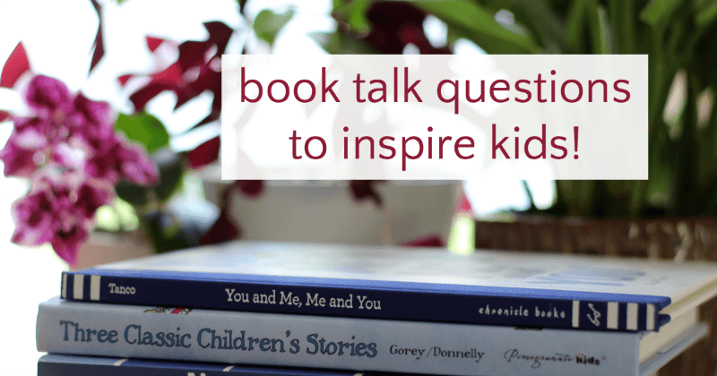 Questions to ask your kids about books