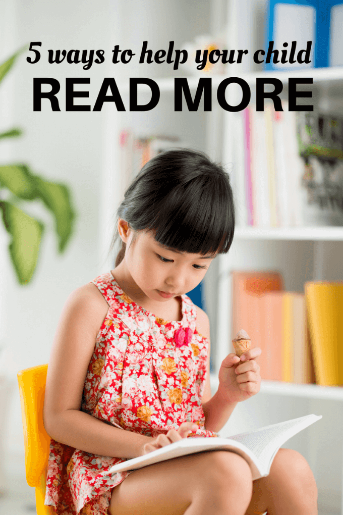 How to help your child read more