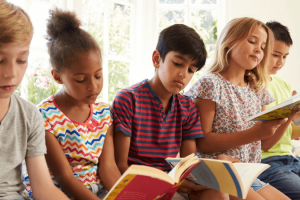How to help children love to read and read more.