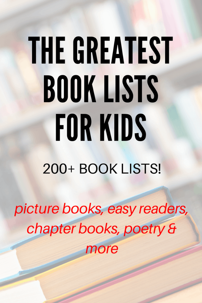 The best book lists for kids. Extensive themes and for all ages.