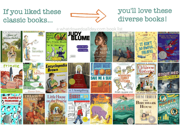 I you like these classic books, you'll love these diverse books for kids