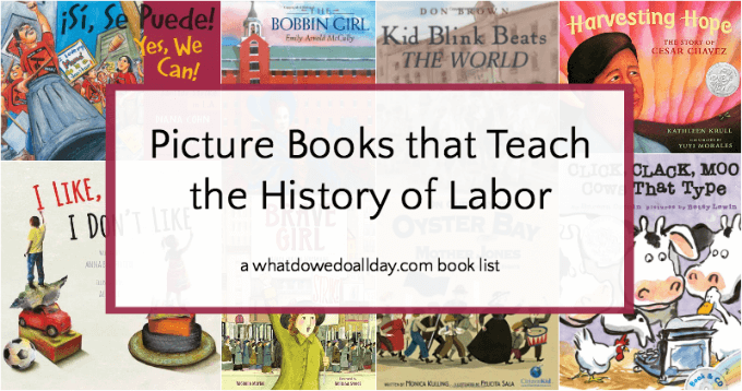 Children's picture books for labor day
