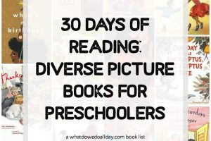 30 Days of Diverse Books for Preschoolers