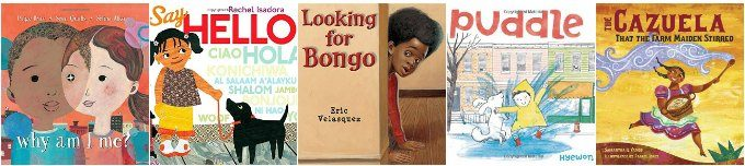 Week 1 of diverse preschool books