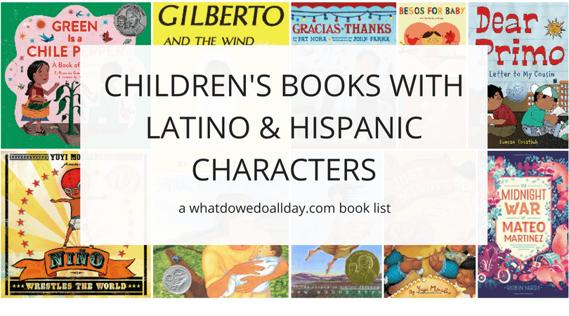 Hispanic and Latino children's books