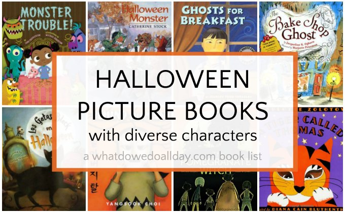 Diverse Halloween books for kids