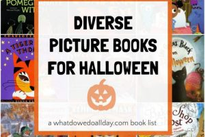 These Books are a Treat: Diverse Halloween Books
