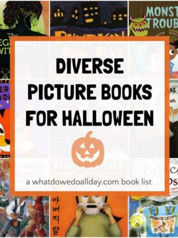 Diverse picture books for Halloween