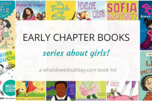 Early chapter book series about girls