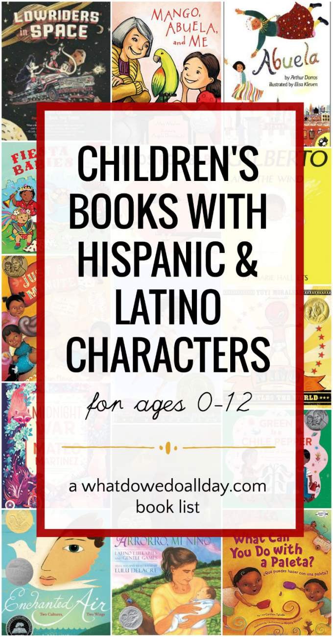 Latino and Hispanic Children's Books