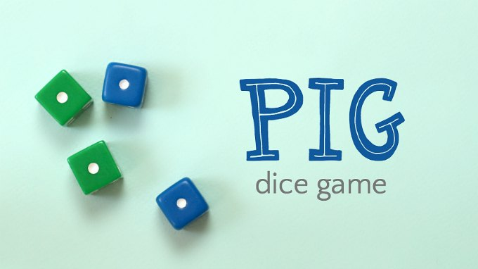 How to play pig dice game