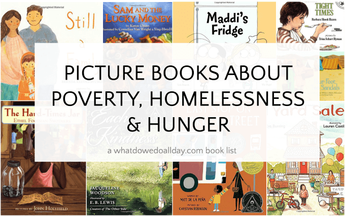 Picture books about poverty, homelessness and hunger