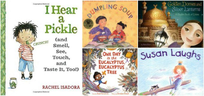 Week 5 of preschool diversity books
