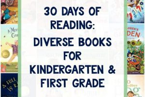 30 Days of Diverse Books for Kindergarten and First Grade