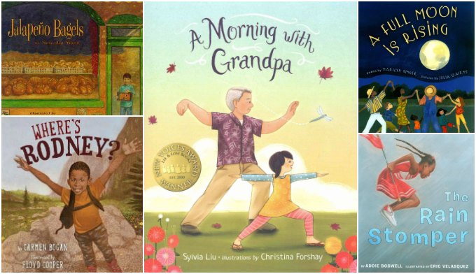 Week five of diverse picture books for 1st grade and kindergarten
