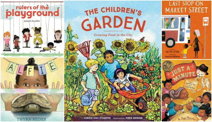 Week six of diversity books for ages 4-8