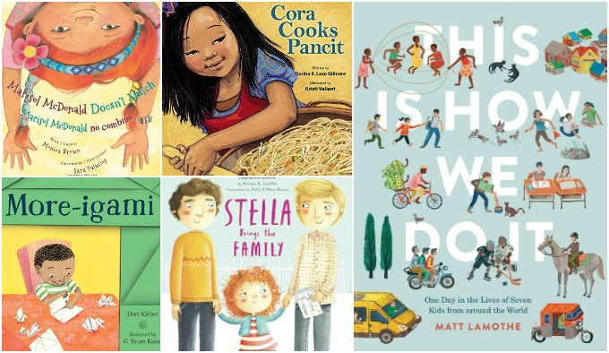 Kindergarten diverse picture books