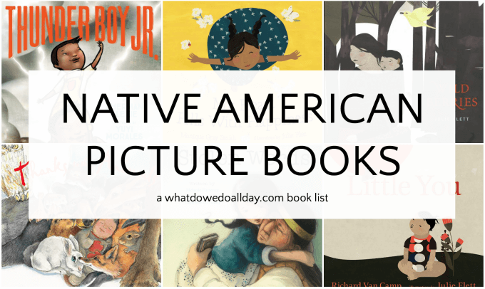 Native American picture books for children