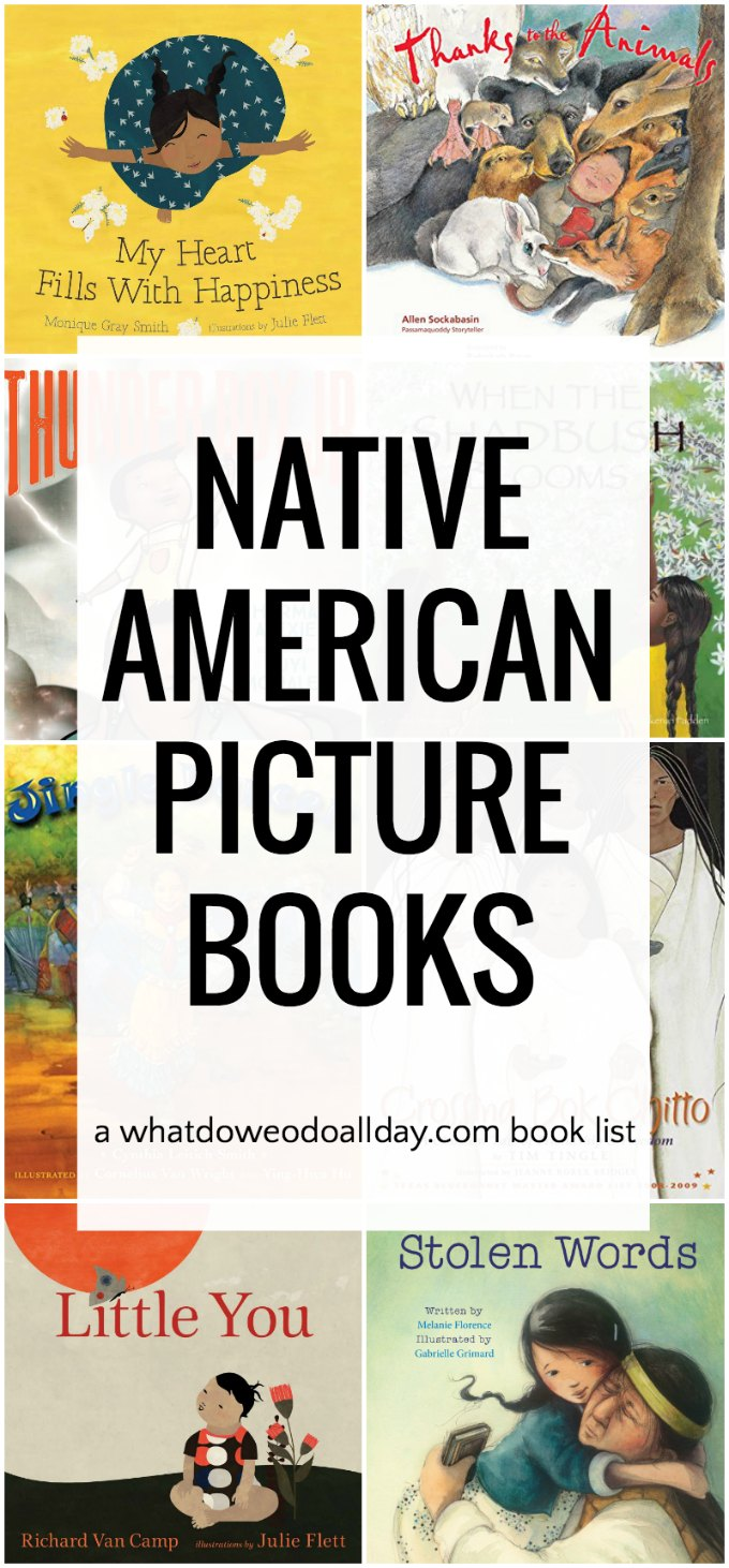 Wonderful Native American Picture Books by Native authors