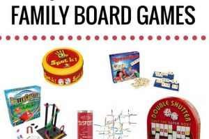 Non-board games for families.