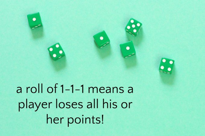 Sequences dice game meaning of 111 roll