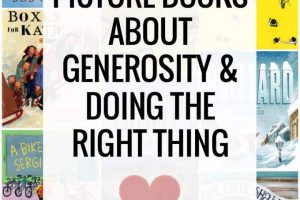 Books about Generosity & Doing the Right Thing