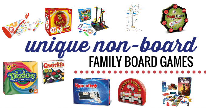 A list of nonboard games for kids