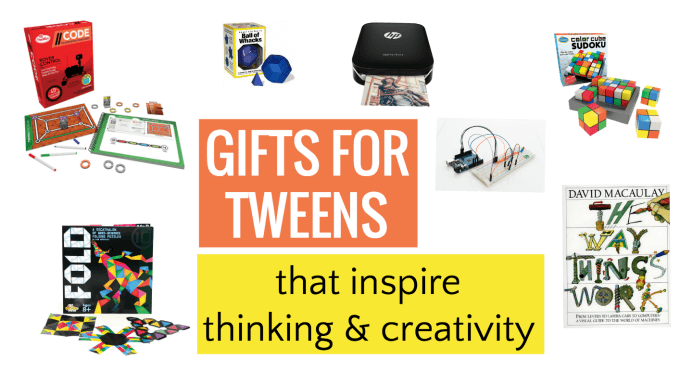 Best gifts for tweens that inspire thinking and creativity