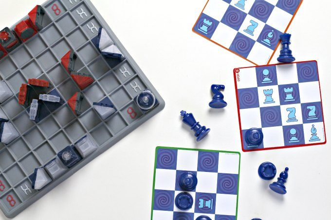 Learn basic chess skills with two chess alternative games